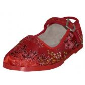 Wholesale Footwear Toddlers' Brocade Mary Janes ( Red Color Only)