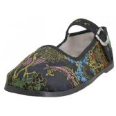 Wholesale Footwear Toddlers' Brocade Mary Janes ( Black Color Only)