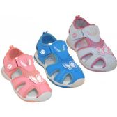 Wholesale Footwear Girl's Velcro Sport Hiker Sandals