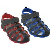 Wholesale Footwear Kid's Hiker Sandals