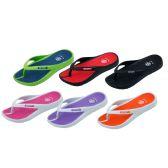 Wholesale Footwear Girl's Sport Multi Colors Flip Flops
