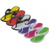 Wholesale Footwear Lady Sport Thong Sandal ( *Asst. Color ) Size 6-11