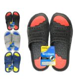 Wholesale Footwear Men's 2-Tone Eva Sandals