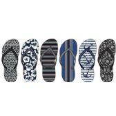 Wholesale Footwear Mens Assorted Fashion Flip Flops
