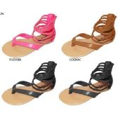 Wholesale Footwear GIRLS PU ANKLE STRAP SANDAL
