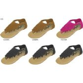 Wholesale Footwear GIRLS MICROSUEDE FRINGE SANDAL