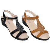 Wholesale Footwear Ladies Wedge Sandal With Rhinestones