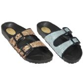Wholesale Footwear Ladies Slip On Sandals