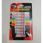 "Wholesale Footwear 9 Pack 39"" Round Shoe Laces [assortment]"