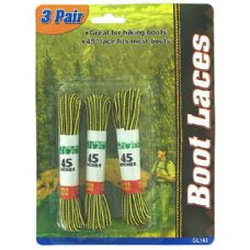 Wholesale Footwear 3 Pair boot laces