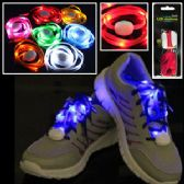 Wholesale Footwear FLASHING LED SHOELACES.
