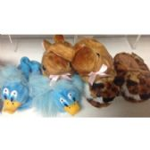 Wholesale Footwear Kid's Animal Slippers