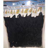 """Wholesale Footwear BLACK SHOELACES 45"""""""
