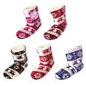 Wholesale Footwear Lady's Fuzzy Boots