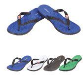 Wholesale Footwear Men's Flip FlopS--Sports With Flag