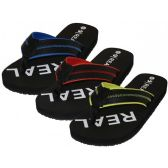 "Wholesale Footwear Men's ""Real"" Sport Thong Sandals"