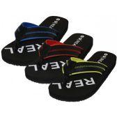 "Wholesale Footwear Men's ""real"" Sport Thong Sandals"