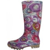 Wholesale Footwear Women's 13.5 Inches Waterproof Rubber Rain Boots