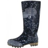Wholesale Footwear Women's 13.5 Inches Waterproof Rubber Rain Boots