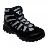 Wholesale Footwear High Top Sneakers In Black And Grey
