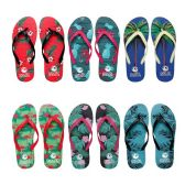 Wholesale Footwear Womens Flip Flop Assorted Palms