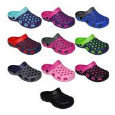 Wholesale Footwear Kids Clogs Assorted Colors
