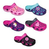 Wholesale Footwear Girl's Clogs With Assorted Colors Styles