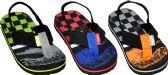 Wholesale Footwear Boys Assorted Color Flip Flop