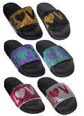 Wholesale Footwear GIRLS ASSORTED COLOR LOVE SANDAL