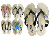 Wholesale Footwear Women's Slippers 4 Assorted Colors