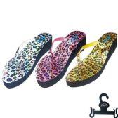 Wholesale Footwear Lady's slippers Size Leopard Pattern Color 6-11