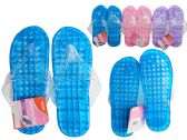 Wholesale Footwear Women's Jelly Massaging Flip Flops