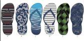 Wholesale Footwear Mens Fashion Print Summer Flip Flops