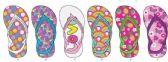 Wholesale Footwear Toddler Girls Assorted Flip Flop