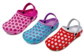 Wholesale Footwear Women's Bubble Clogs w/ Adjustable Straps - Asssorted Colors
