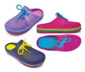 Wholesale Footwear Women's Clogs With/ Laces - Asssorted Colors