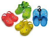 Wholesale Footwear Toddler's Animal Clogs - Assorted Colors