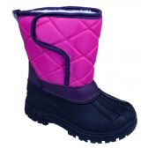 Wholesale Footwear Girls' Fuchsia Winter Boots
