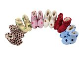 Wholesale Footwear Girls Slipper Boots Multicolored