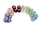 Wholesale Footwear Girls Slipper Boots With Pom Pom