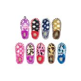 Wholesale Footwear Womens Assorted Color Snowflake Slippers