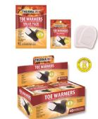 Wholesale Footwear Air Activated Toe Warmers with Adhesive