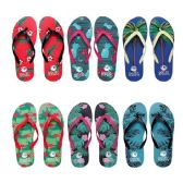 Wholesale Footwear Women's Assorted Palm Tree & Beach Flip Flop