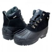 Wholesale Footwear Mens Warm Waterproof Winter Snow Boot In Black