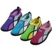 "Wholesale Footwear Women's ""Wave"" Multi Color Water Shoes"
