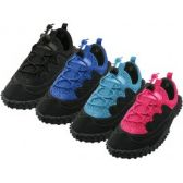 "Wholesale Footwear Children's Lace Up ""Wave"" Water Shoes"