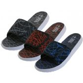 "Wholesale Footwear Men's ""Real"" Sport Slide Sandals"