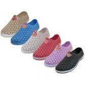 Wholesale Footwear Women's Wave Soft Light Weight Slip On Sandals