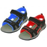 Wholesale Footwear Youth's Velcro Strap Sandals