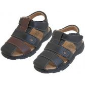 Wholesale Footwear Boy's Pu. Leather Upper Velcro Sandals